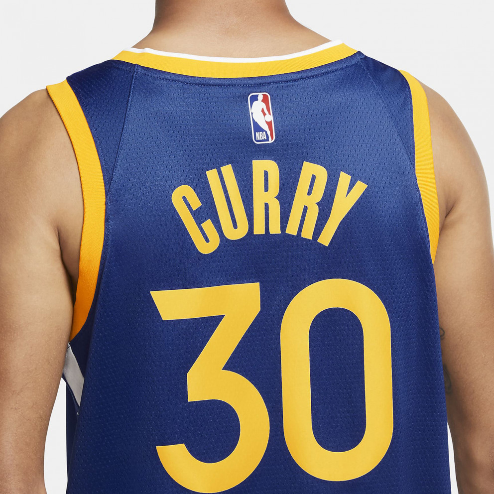 Nike NBA Stephen Curry Golden State Warriors Icon Edition 2020 Men's Jersey