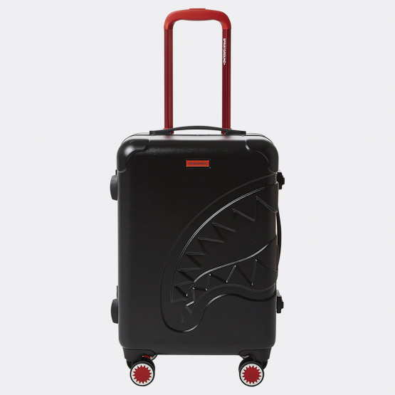 "Sprayground 22"" Black Molded Shark Mouth Carry-On"