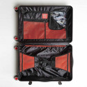 "Sprayground 29"" Black Molded Shark Mouth Carry-On Τσάντα Ταξιδιού"