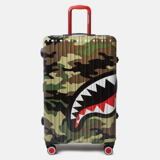 "Sprayground 29"" Camo Shark Mouth Carry-On Luggage Τσάντα Ταξιδιού"