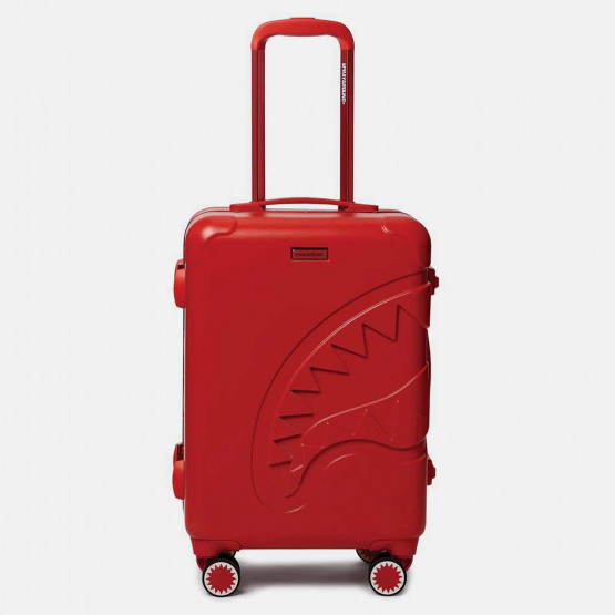 "Sprayground 22"" Red Molded Shark Mouth Carry-On Τσάντα Ταξιδιού"