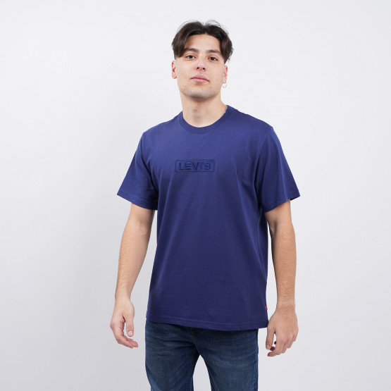Levis Ss Relaxed Fit Tee Bt Tonal Emb Reflect