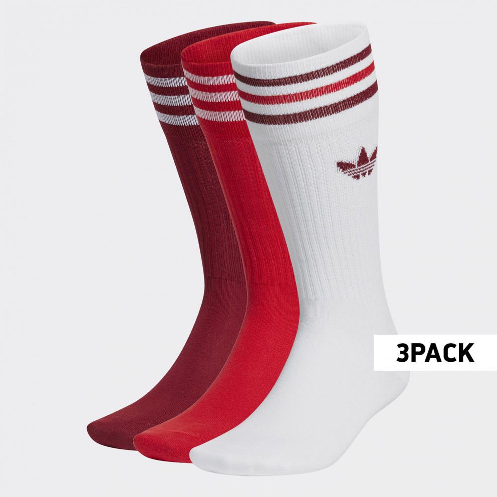 adidas Originals Solid Crew 3Pack Κάλτσες