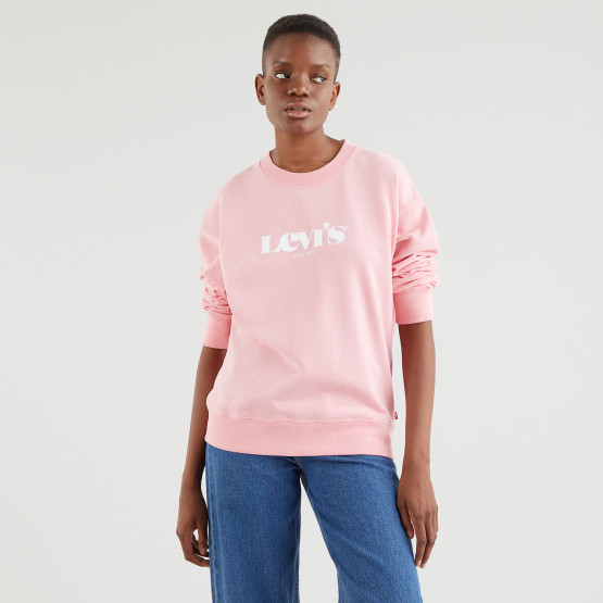 Levis Graphic Standard Crew New Women's Sweatshirt