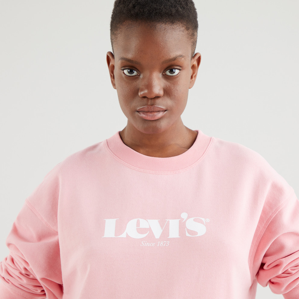 Levis Graphic Standard Crew New Levi's New Original Crew Γυναικείο Φούτερ