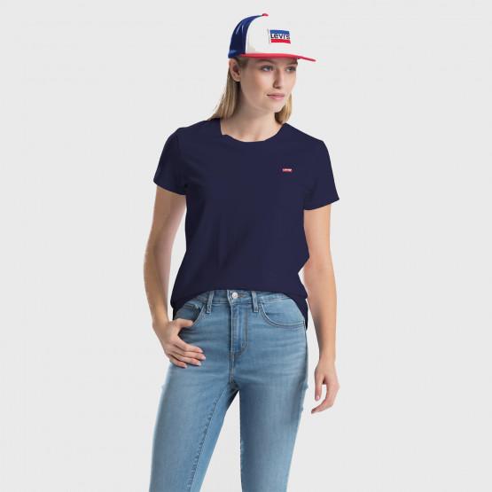 Levis Perfect Tee Sea Captain Blue Women's T-shirt