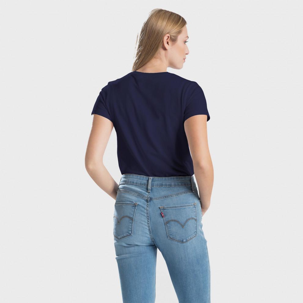 Levis Perfect Tee Sea Captain Blue Γυναικείο T-shirt