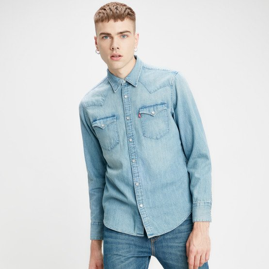 Levis Barstow Western Standard Denim Men's Shirt