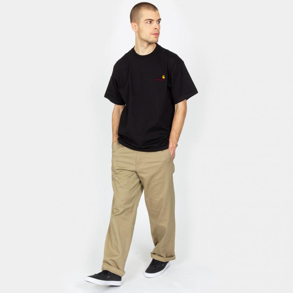 Carhartt WIP American Script Ανδρικό T-Shirt