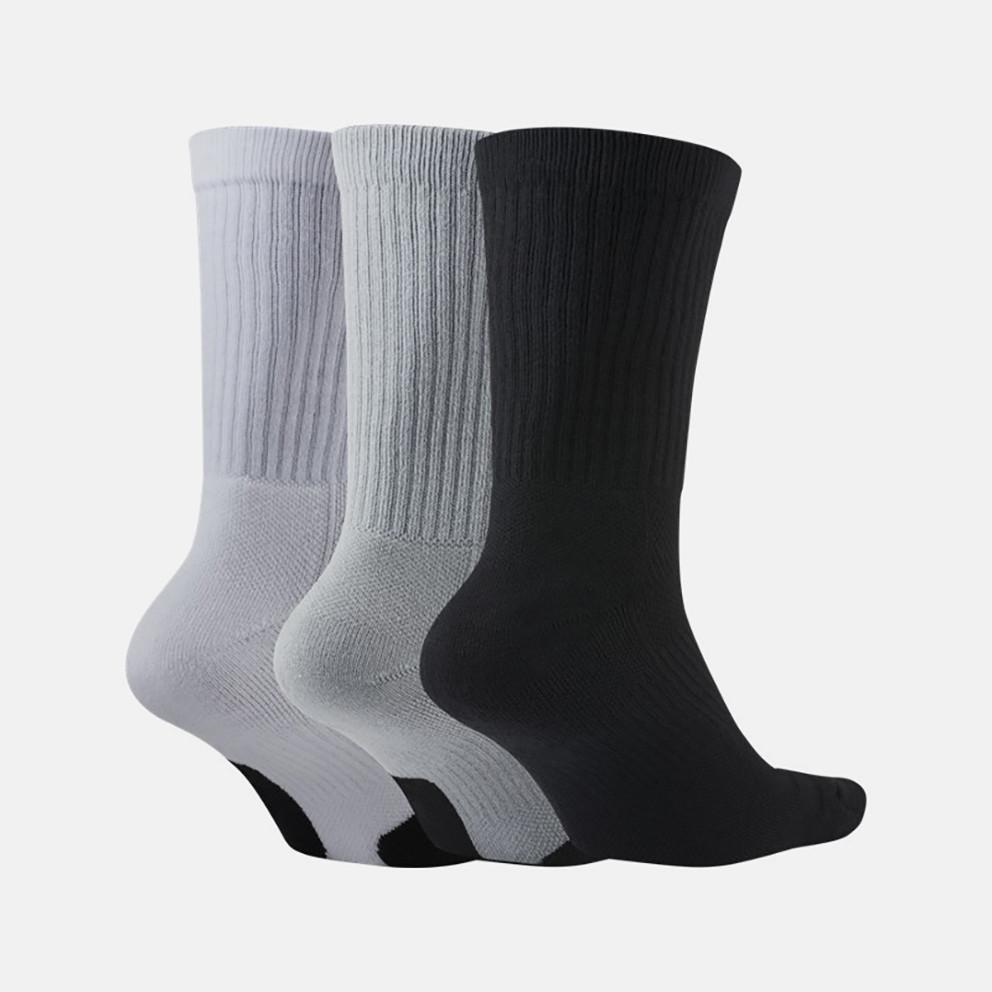 Nike Crew Everyday Basketball Socks Ανδρικές Μπασκετικές Κάλτσες 3Pr