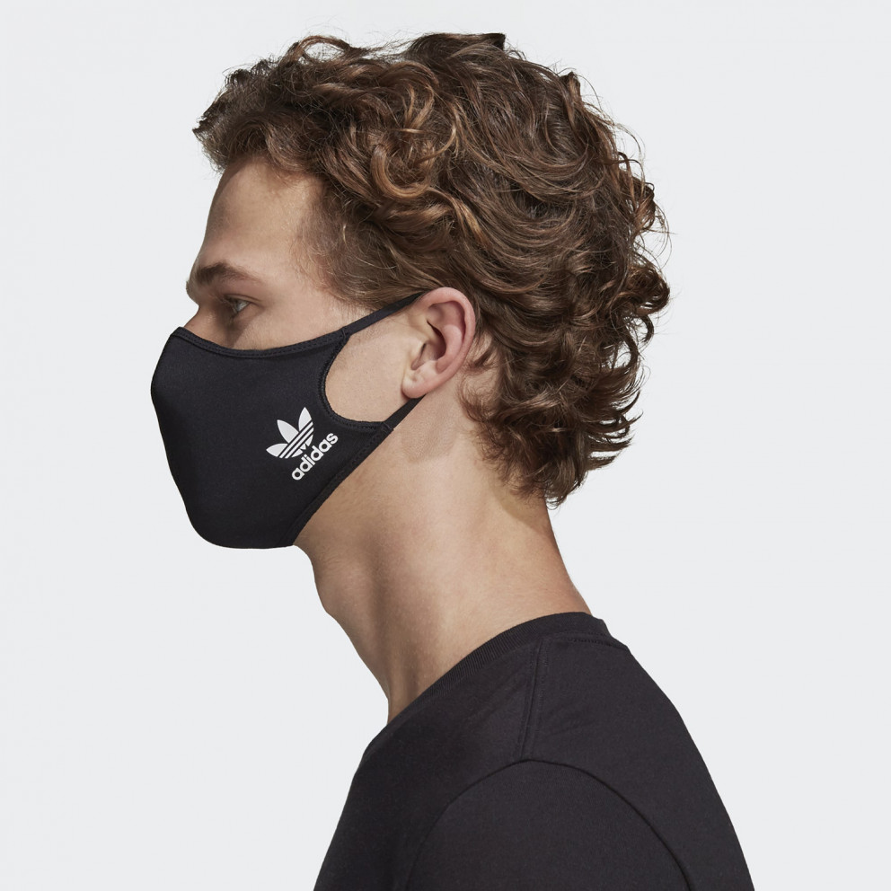 adidas Originals 3-Pack Medium-Large Μάσκες Προσώπου