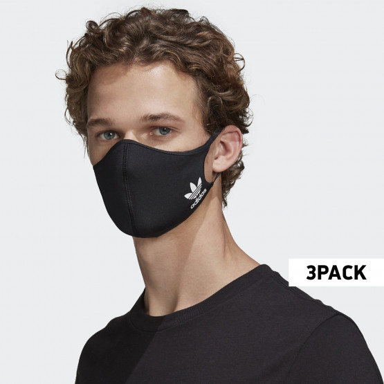 adidas Originals 3-Pack XSmall-Small Μάσκες Προσώπου