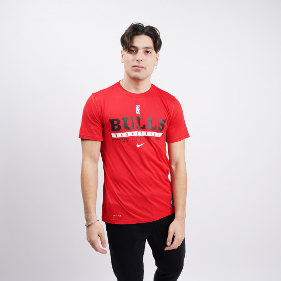 Nike NBA Chicago Bulls Dri-FIT Ανδρικό T-Shirt