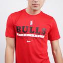 Nike NBA Chicago Bulls Dri-FIT Ανδρικό T-Shirt