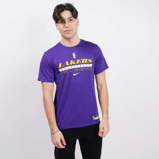 Nike NBA Los Angeles Lakers Dri-FIT Ανδρικό T-Shirt