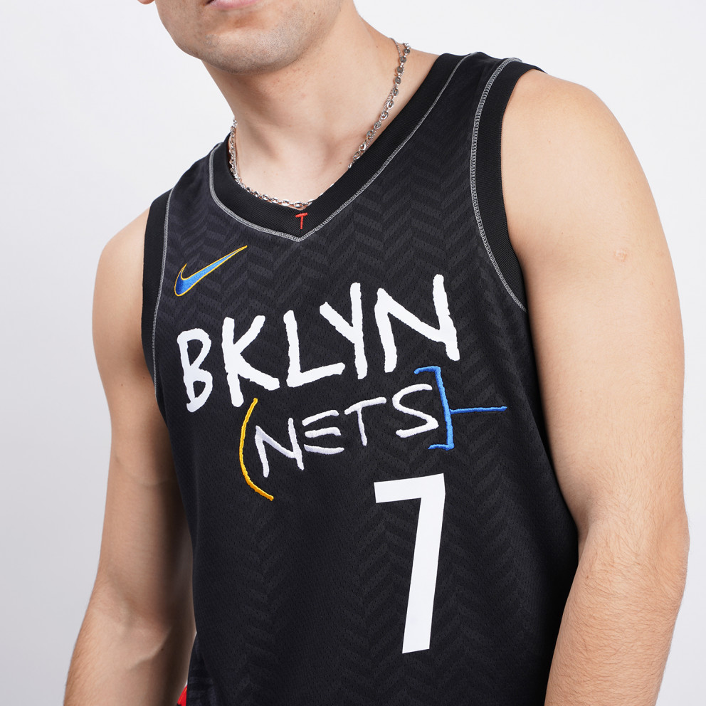 Nike NBA Kevin Durant Brooklyn Nets City Edition Swingman Men's Jersey