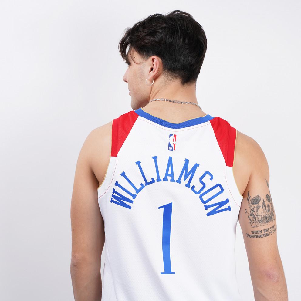 Nike NBA Zion Williamson New Orleans Pelicans City Edition Swingman Men's Jersey