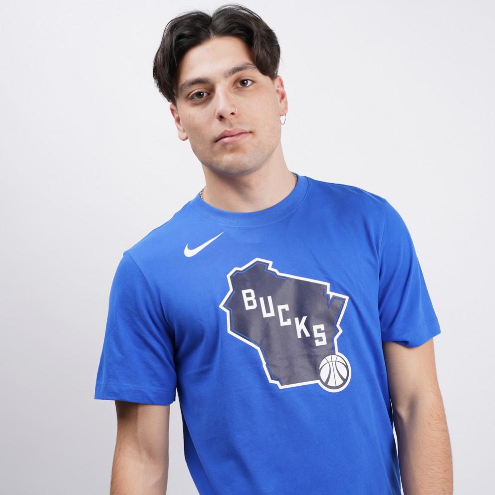 Nike Milwaukee Bucks City Edition Ανδρικό T-Shirt
