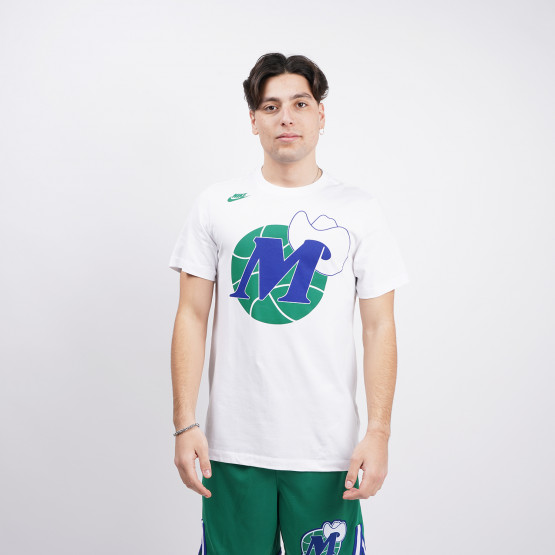 Nike NBA Dallas Mavericks Classic Edition Logo Ανδρικό T-Shirt