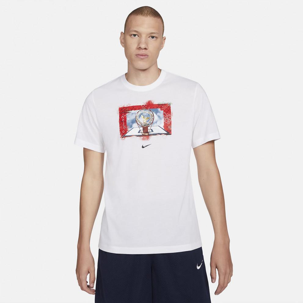 Nike Dri-FIT Photo Ανδρικό T-shirt για Μπάσκετ