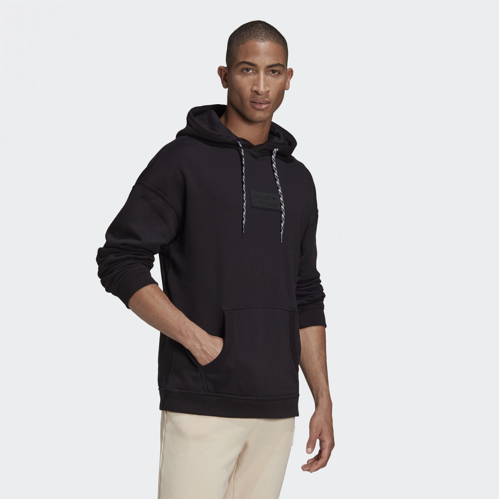 adidas Originals R.Y.V. Silicone Badge Ανδρική Μπλούζα με Κουκούλα