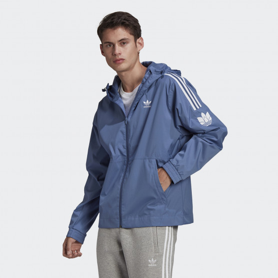 adidas Originals  Adicolor 3D Trefoil Men's Windproof Jacket