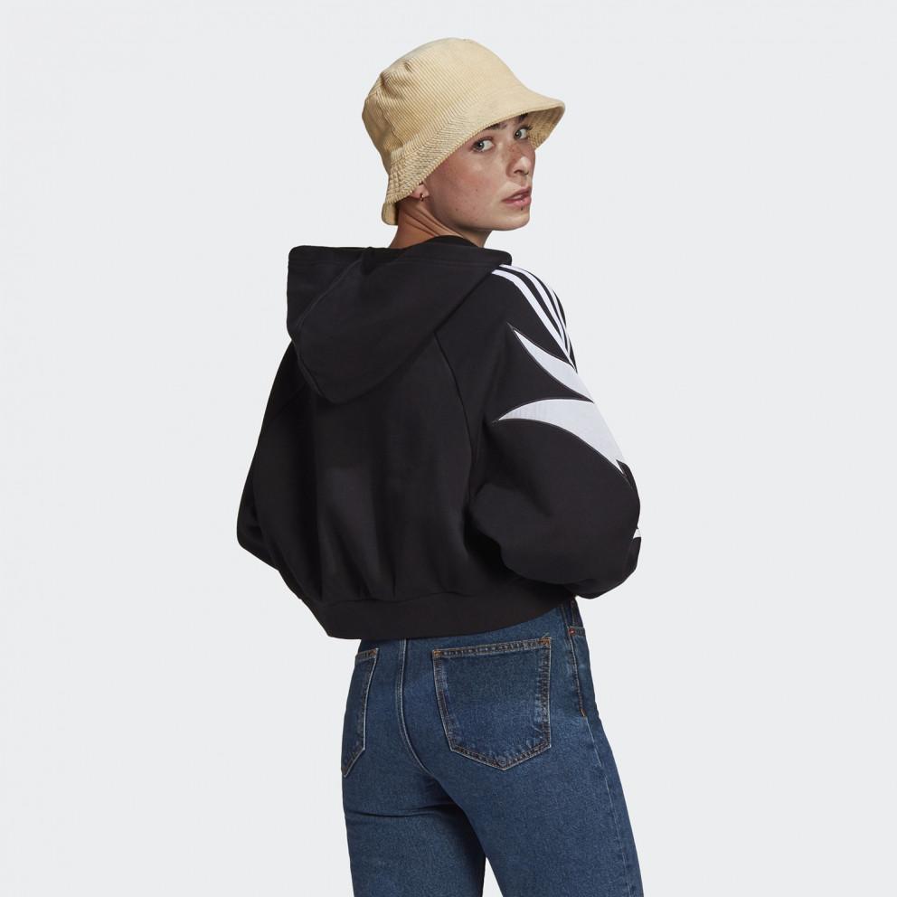 adidas Originals Fakten Γυναικεία Μπλούζα με Κουκούλα