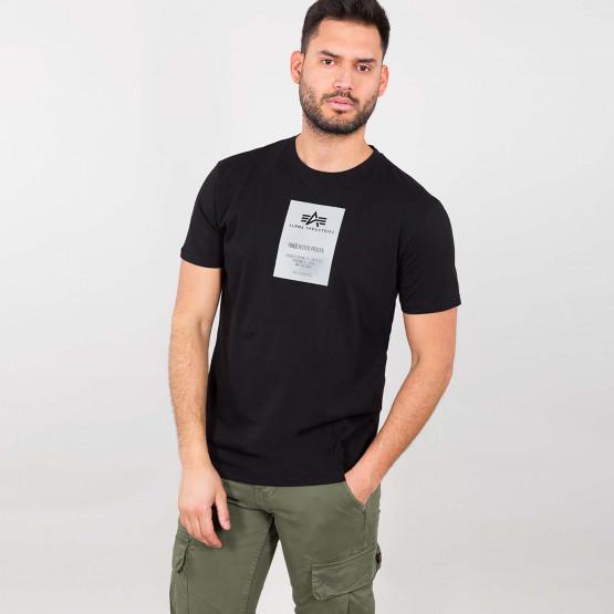 Alpha Industries Reflective Label Ανδρικό T-Shirt