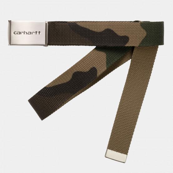 Carhartt WIP Clip Belt Chrome ---