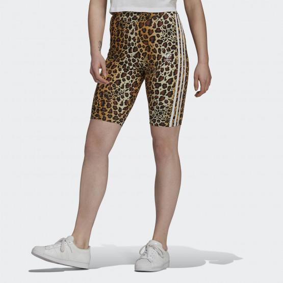 adidas Originals Animal Print Women's Biker Shorts