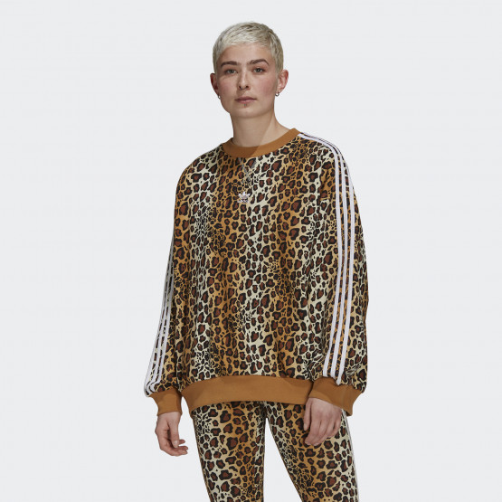 adidas Originals Crew Animal Print Γυναικείο Φούτερ
