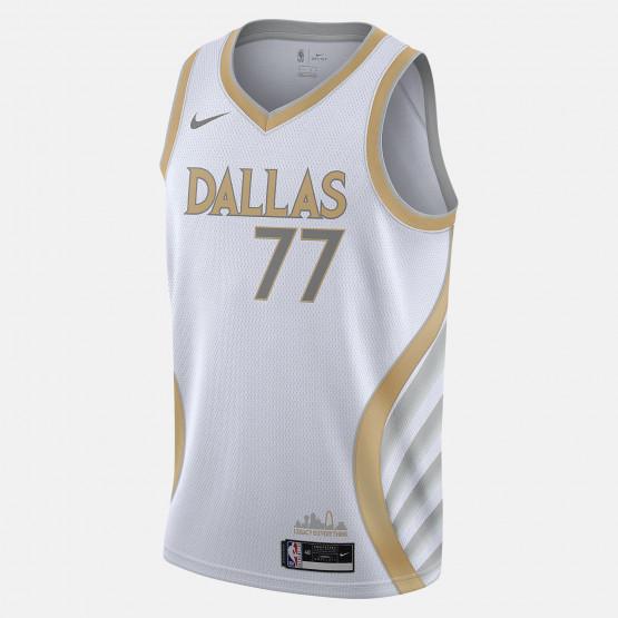 Nike NBA Luka Doncic Dallas Mavericks City Edition 2020 Swingman Men's Jersey