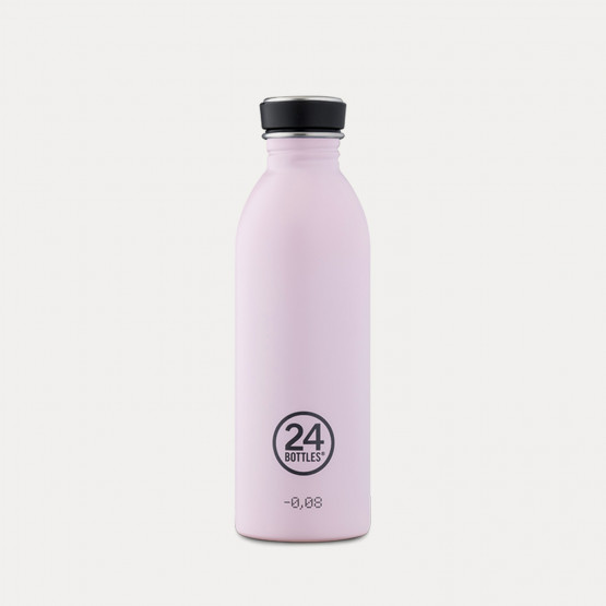 24Bottles Urban Stainless Steel Bottle Candy Pink 500ml