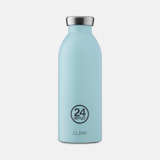 24Bottles Clima Cloud Blue Ανοξείδωτο Μπουκάλι 500ml