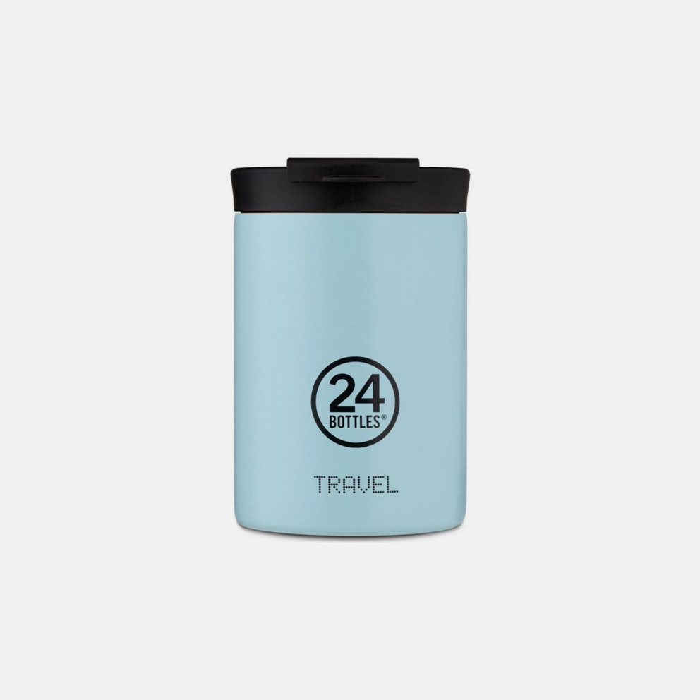 24Bottles Travel Tumbler Cloud Blue Ανοξείδωτο Ποτήρι Θερμός 350ml