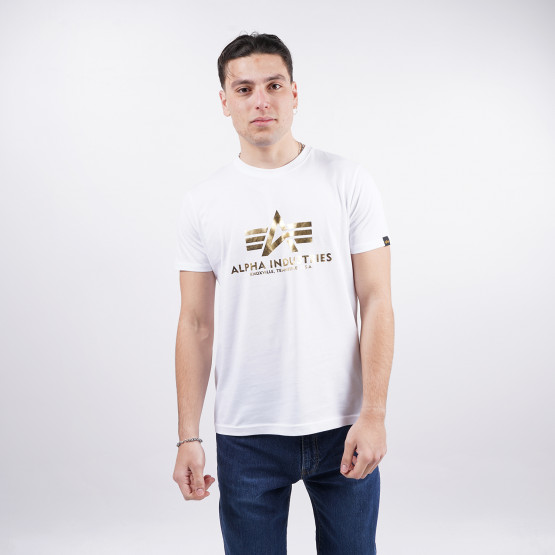 Alpha Industries Basic Foil Ανδρικό T-Shirt