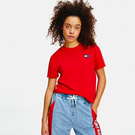Tommy Jeans Badge Γυναικείο T-Shirt