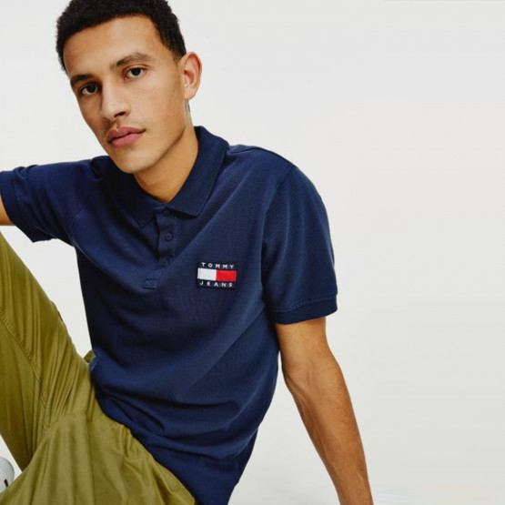 Tommy Jeans Badge Men's Polo T-Shirt