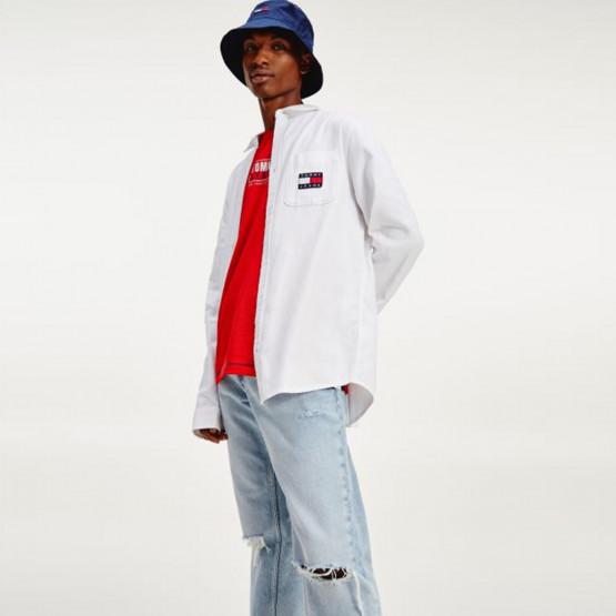 Tommy Jeans Tjm Badge Tencel Twill Shirt