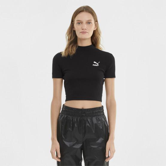 Puma Classics Mock Neck Women's T-shirt