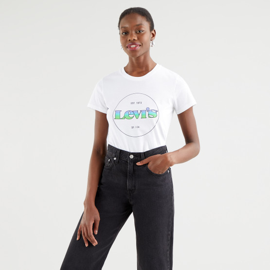 Levis The Perfect Tee Circle Logo Gr