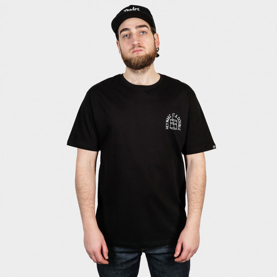 The Dudes Monday T-Shirt Black