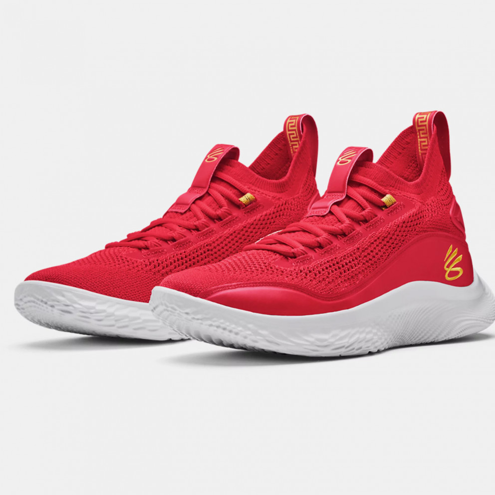 Under Armour Curry 8 Ανδρικά Παπούτσια για Μπάσκετ
