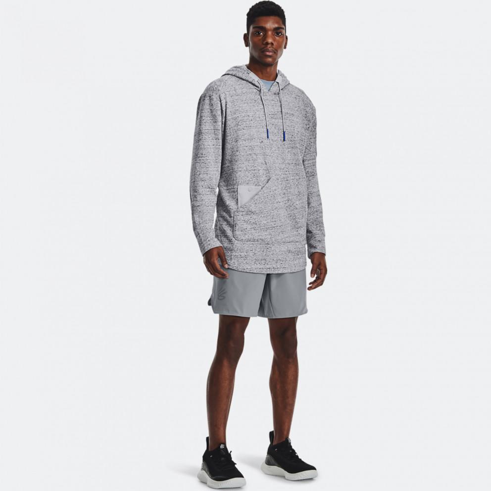 Under Armour Curry UNDRTD Utility Ανδρική Μπλούζα με Κουκούλα