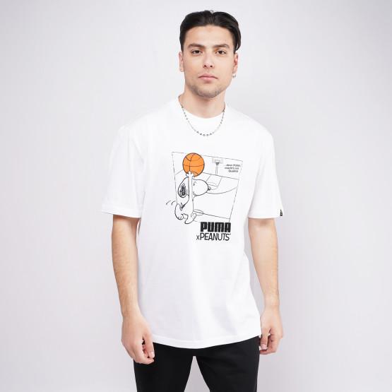 Puma X Peanuts Ανδρικό T-shirt