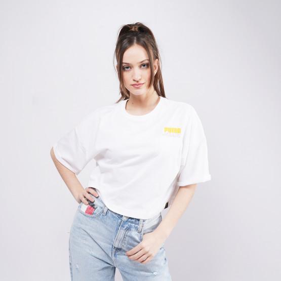 Puma X Peanuts Γυναικέιο T-shirt