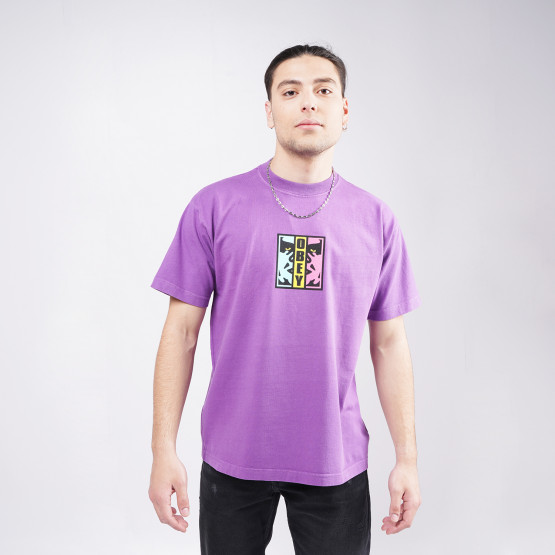 Obey Divided Heavyweight Ανδρικό T-shirt