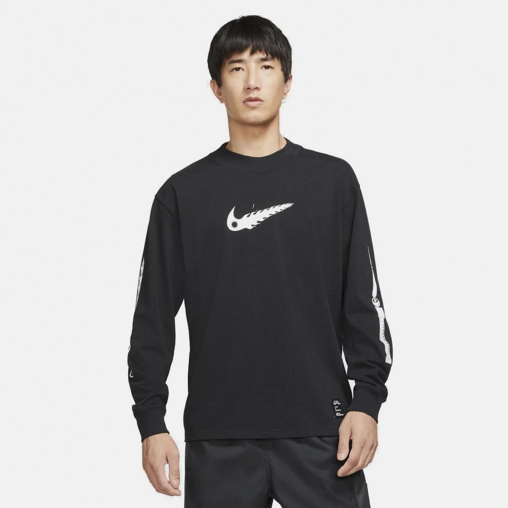 Nike Sportswear Sophy Hollington Ανδρική Μπλούζα με Μακρύ Μανίκι