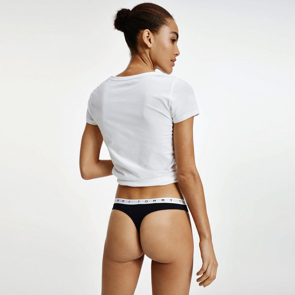 Tommy Jeans 3P Γυναικεία Thong Print