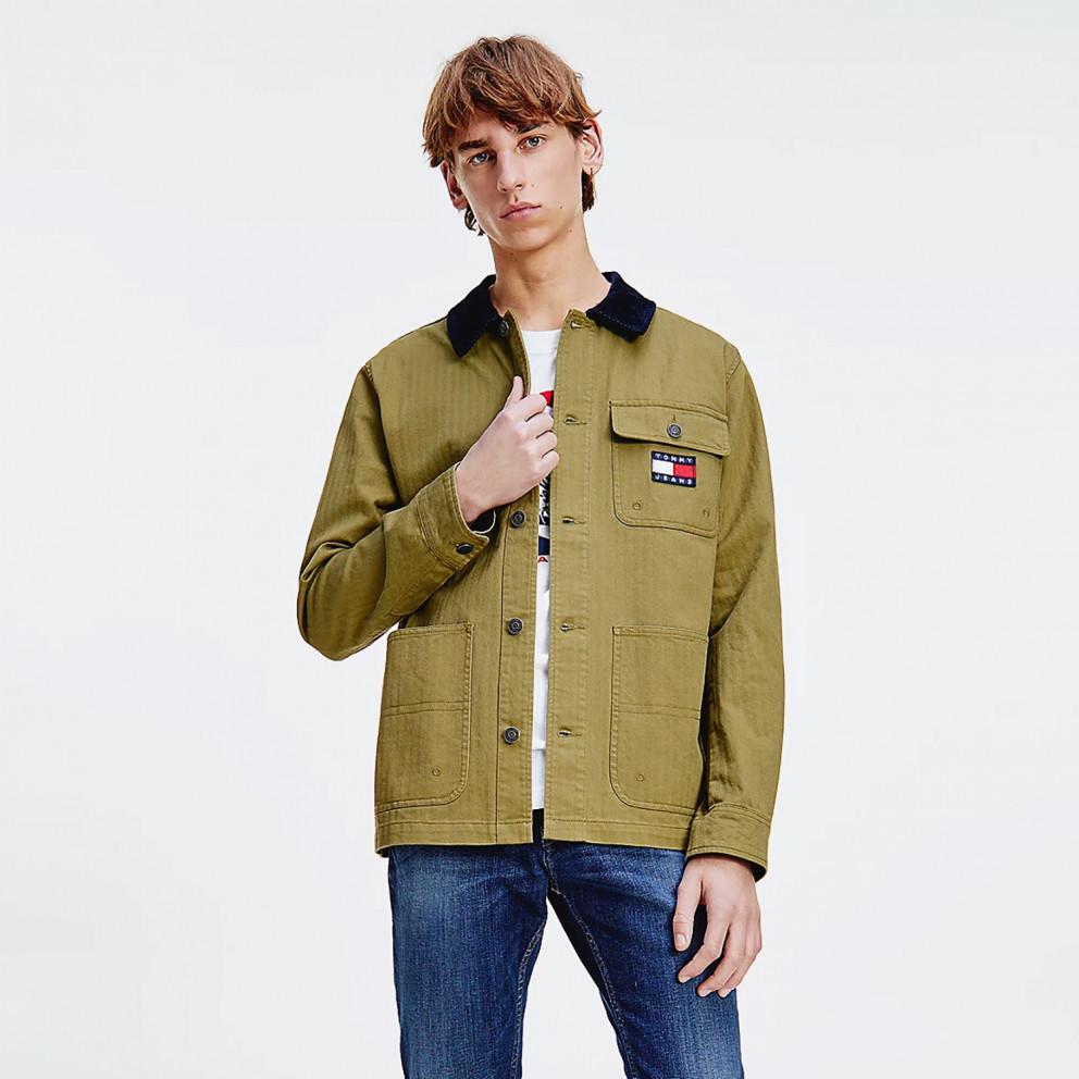 Tommy Jeans Badge Worker Jacket Ανδρικό Μπουφάν